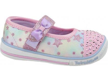 Detské topánky Skechers Twinkle Play Jr 20140N-PKMT
