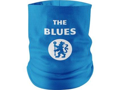 Nákrčník the blues bielo modrý