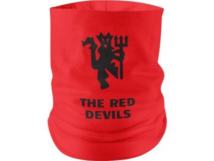 Nákrčník Red devils červeno čierny