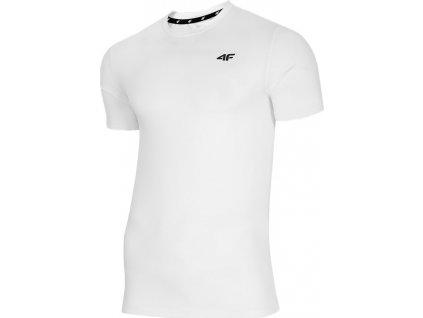 Tričko 4F biela NOSH4 TSMF002 10S
