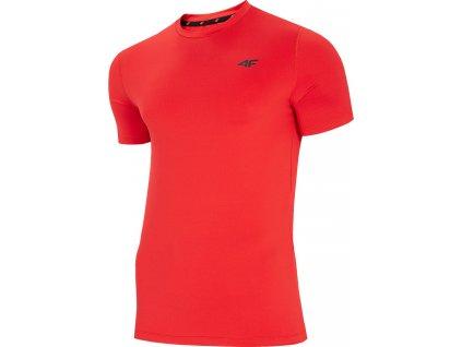 Tričko 4F červená NOSH4 TSMF002 62S