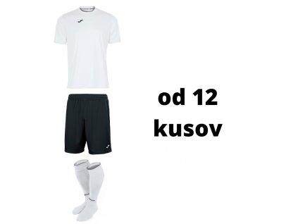 Futbalová sada Joma Combi, od 12 kusov, biela / čierna