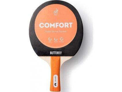 Raketa na stolný tenis Butterfly Comfort