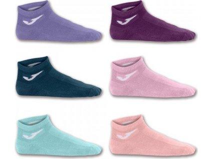 Ponožky INV SOCK PINK-PUR-SALM-BUR-TUR-NAV