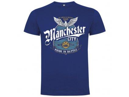 Pánske tričko Citizens, kráľovsky modré, veľkosť XL