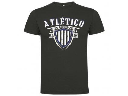 Pánske tričko Atlético, tmavo sivé, veľkosť S