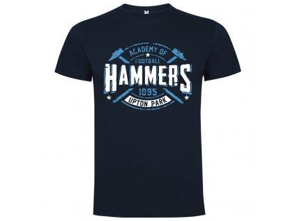 Pánske tričko Hammers, tmavo modré, veľkosť S