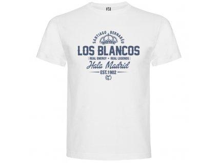 Pánske tričko Los blancos, biele, veľkosť L