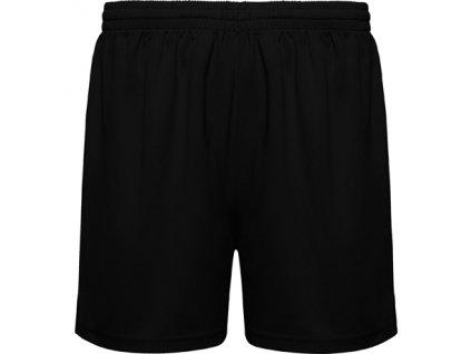 Tréningové šortky player, čierne, veľkosť 4XS
