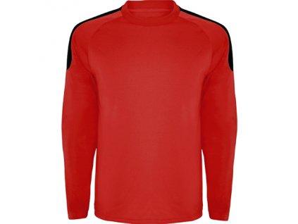 Brankársky dres + Spider, červená / čierna, veľkosť XS