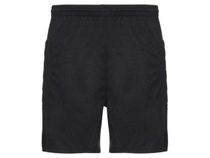 Brankárske šortky Arsenal s potlačou malého čísla 1, čierna, veľkosť XS