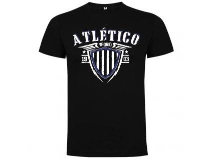 Detské tričko Atlético, čierna