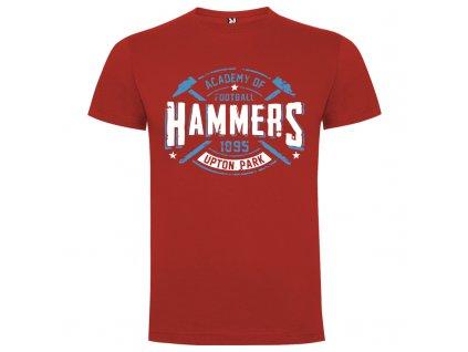 Detské tričko Hammers, červená