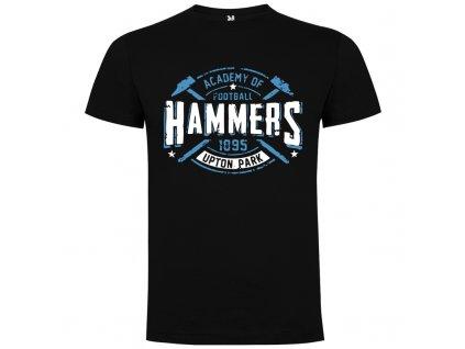 Detské tričko Hammers, čierna