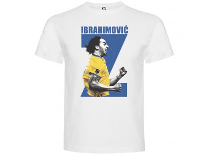 Detské tričko Ibrahimovič, biela