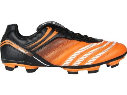 Kopačky Atletico, čierna / oranžová, veľkosť 41