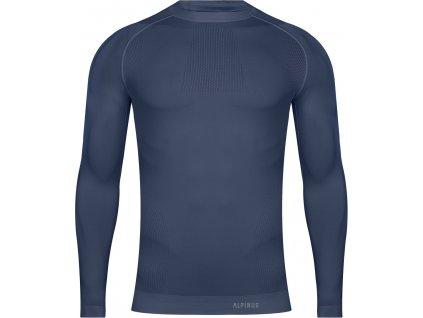Termo tričko s dlhými rukávmi Alpinus Foraker granátové HN43652