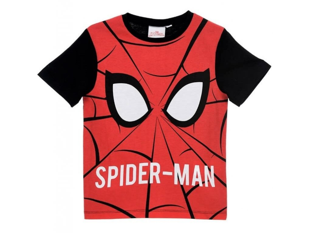 set 4 ks tricko spiderman er 1402 cerveno cerne ve.jpg.big