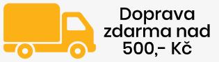 Doprava zdarma k objednávce nad 500,- Kč