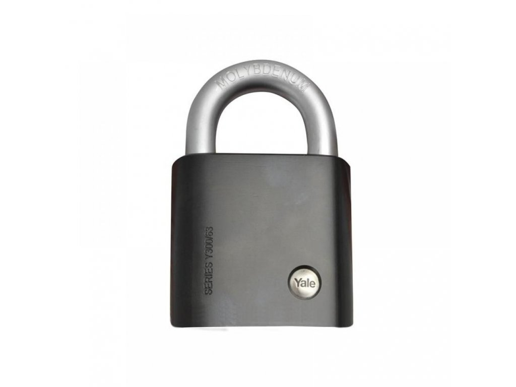 yale locks y300 maximum security steel padlock 63mm y300 63 127 1