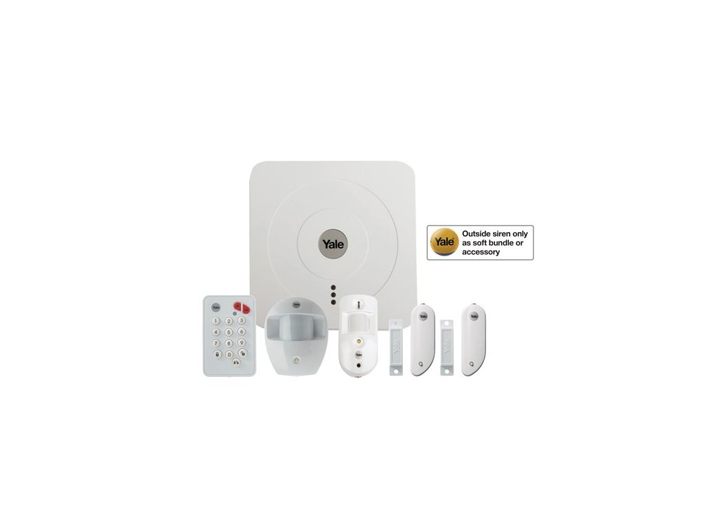 Yale smart living smartphone alarms lite kit SR 3200i