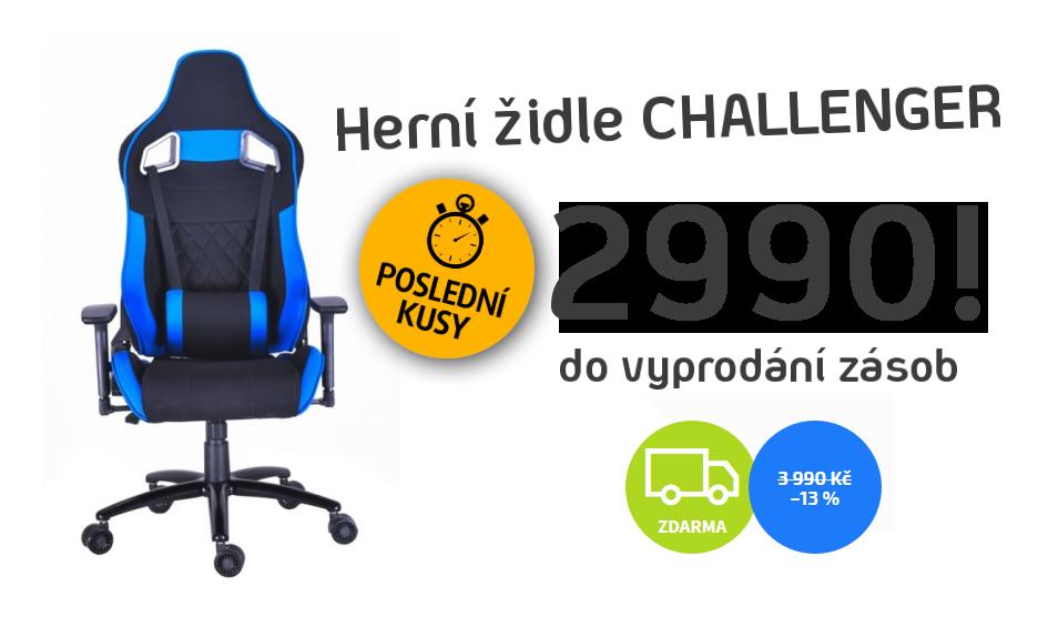 Herní židle CHALLENGER AKCE