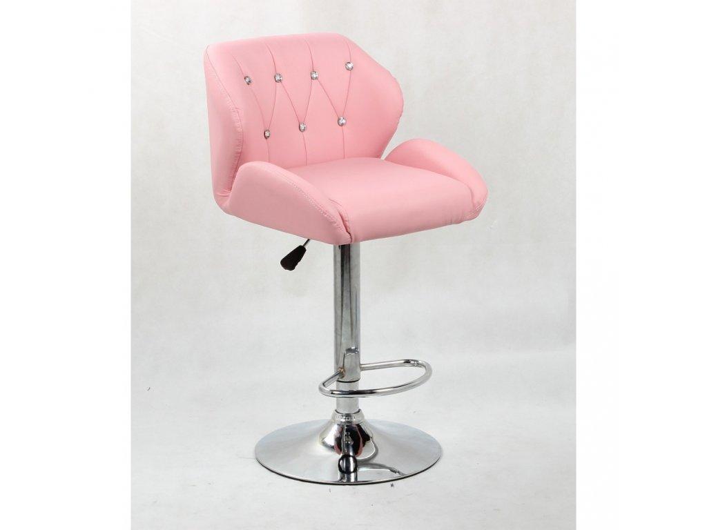 Barová židle PALERMO - růžová