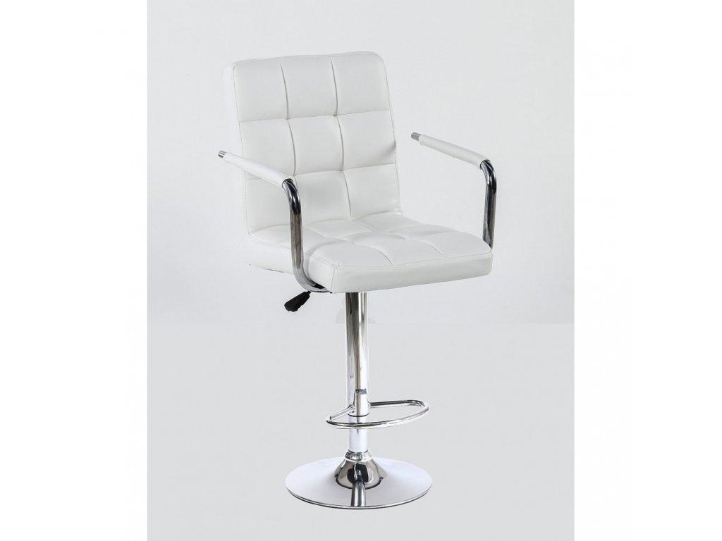 Barová židle VERONA - bílá