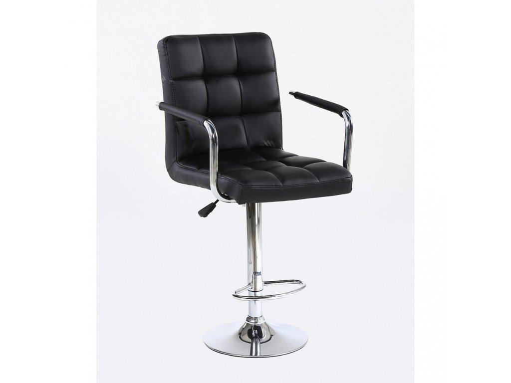 Barová židle VERONA - černá
