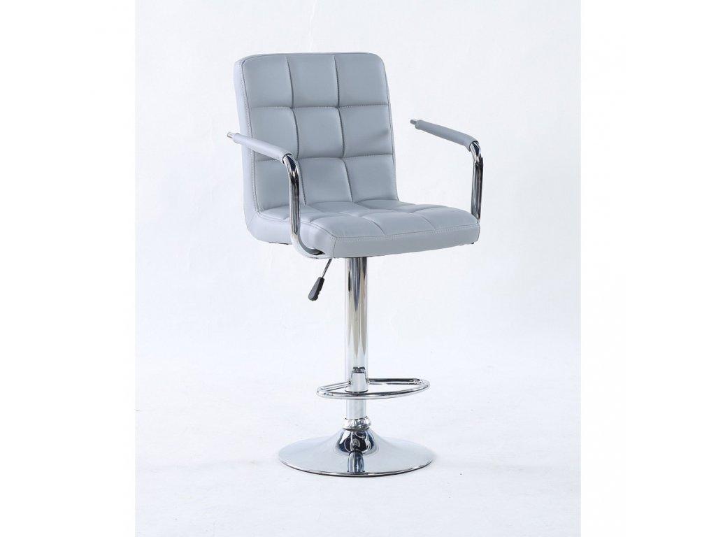Barová židle VERONA - šedá