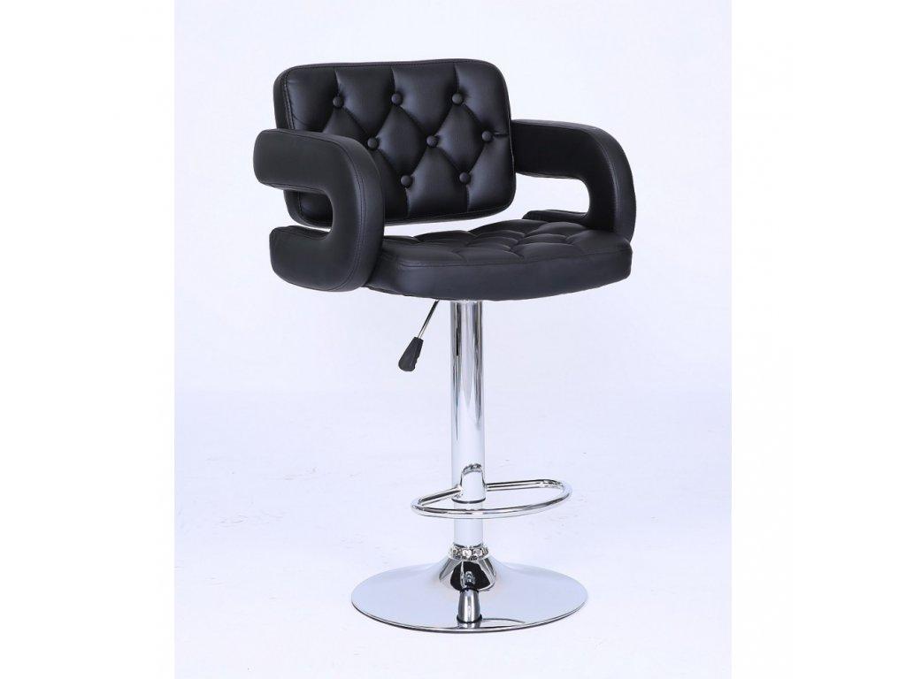 Barová židle Stockholm - černá