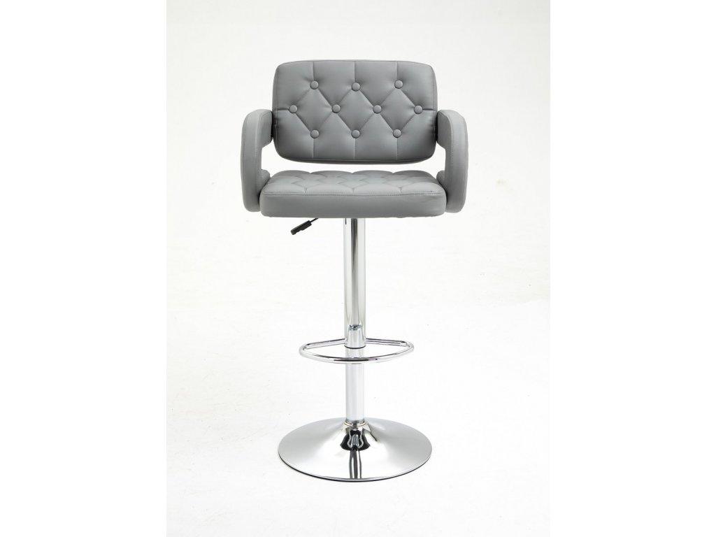 Barová židle Stockholm - šedá