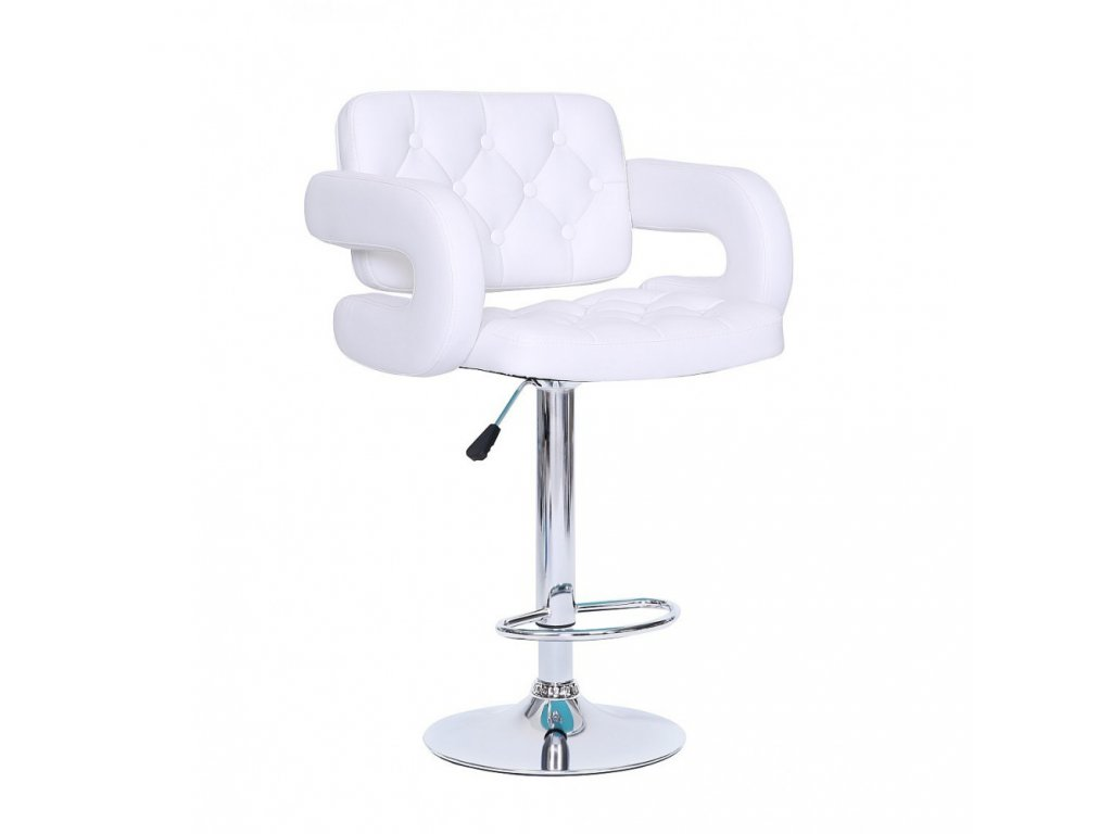 Barová židle Stockholm - bílá