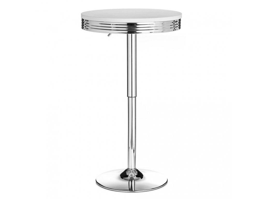 Barový stolek ORLANDO - bílý
