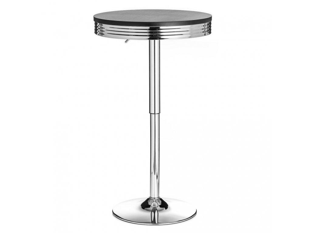 Barový stolek ORLANDO - černý
