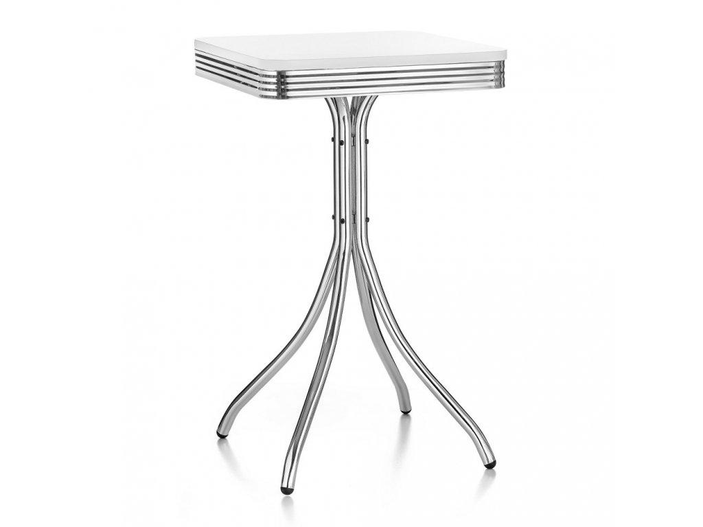 Barový stolek MIAMI - bílý