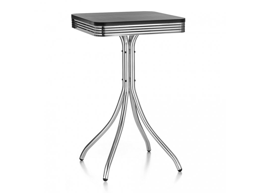 Barový stolek MIAMI - černý