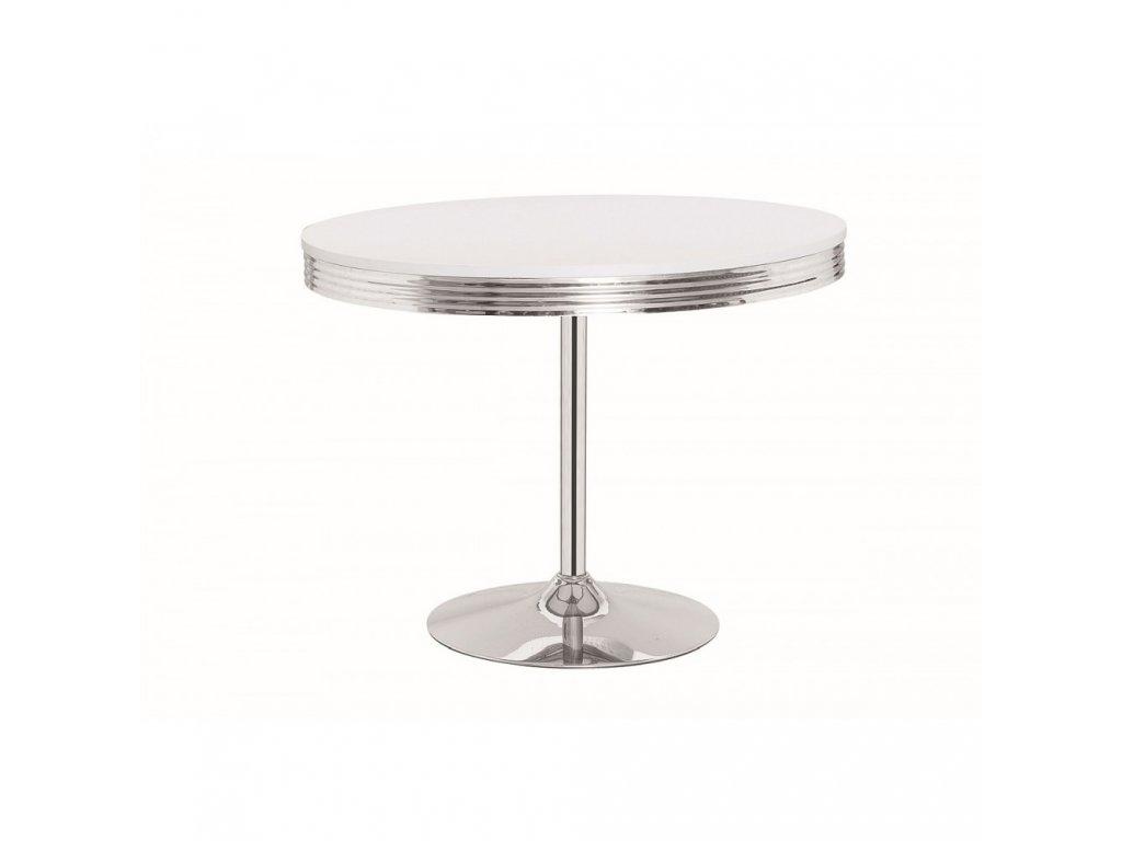 Barový stolek COLORADO - bílý