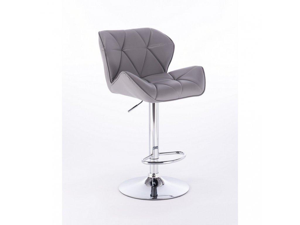 Barová židle MILANO - šedá