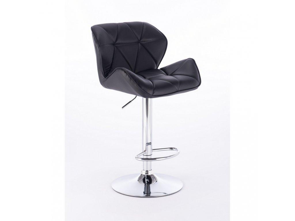 Barová židle MILANO - černá
