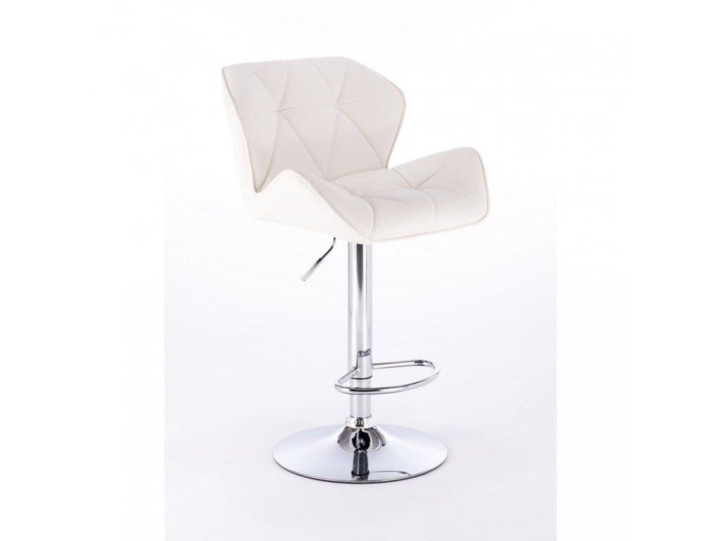 Barová židle MILANO - bílá