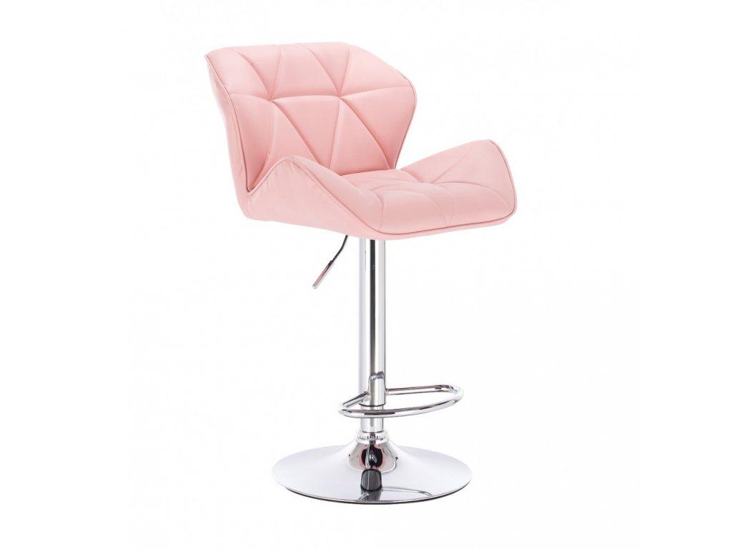 Barová židle MILANO - růžová