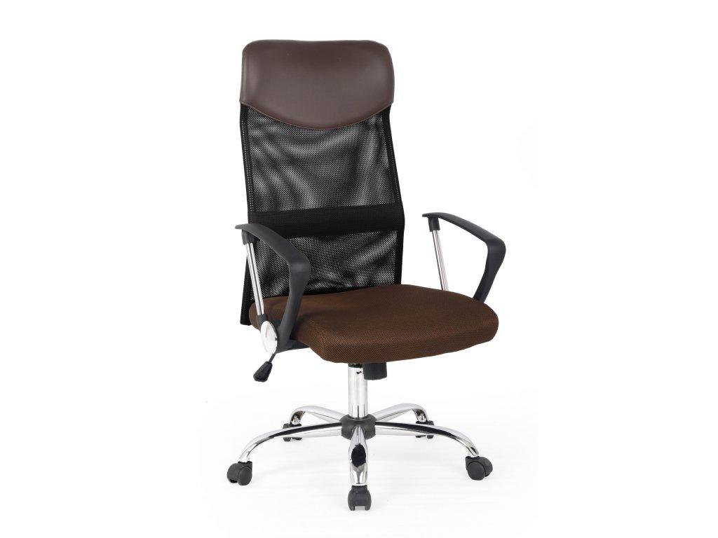 Kancelářská židle VIRE - hnědá