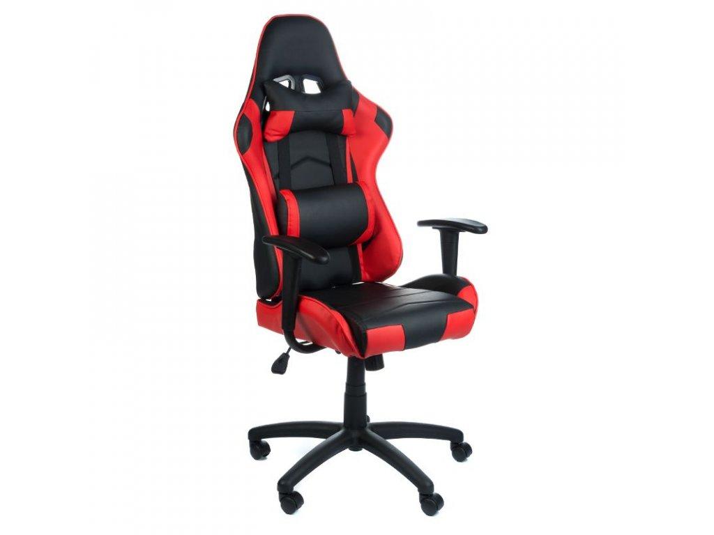 Herní židle FIGHTER - červená