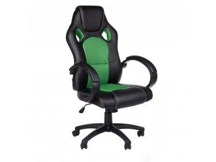 Kancelářská / Herní židle MONAKO - zelená