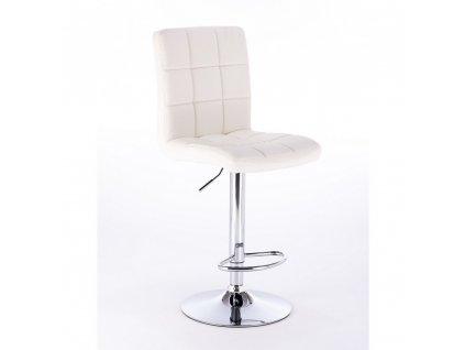 Barová židle TOLEDO - bílá