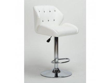 Barová židle PALERMO - bílá