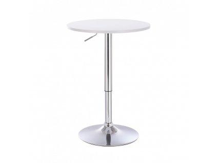 Barový stolek LOUISIANA - bílý