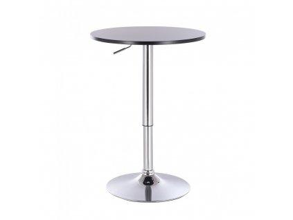 Barový stolek LOUISIANA - černý