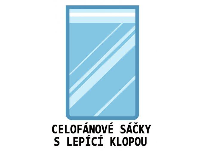 CELOFANOVE SACKY LEPICI KLOPU UZAVEREM SAMOLEPICI
